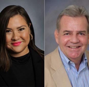 Dr. Hana Hinkle and Dr. Michael Glasser