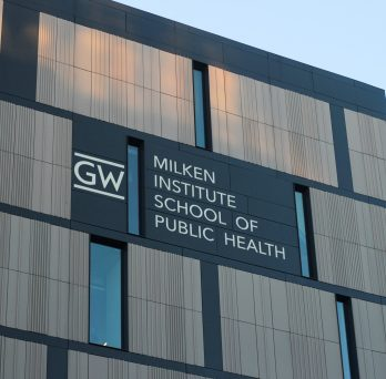The outside of GW building, photo by LILLIAN BAUTISTA